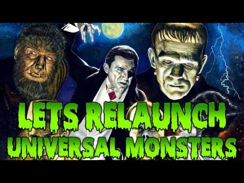 Let's Relaunch the Universal Monsters - THORGIWEEN - Pitching In