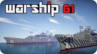 WarShip G1 Alpha - Test Fight - Minecraft [DE]