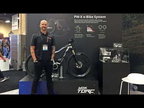 2018 Yamaha Electric Bike Updates at Interbike (PW-X Motor, Urban Rush, Cross Core, Cross Connect)