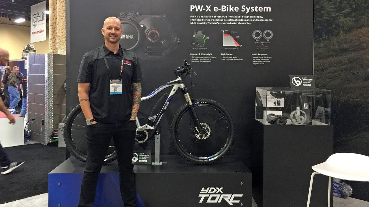 2018 yamaha electric bike updates at interbike pw x motor. Black Bedroom Furniture Sets. Home Design Ideas