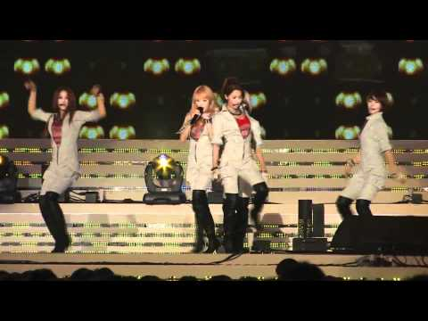 [Fancam] 100629 4Minute   Huh @ World Cup Team Homecoming