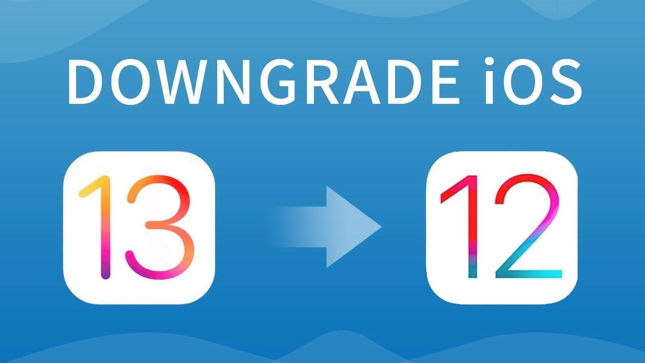 3 Ways to Downgrade iOS 13 Beta/iPadOS 13 to iOS 12