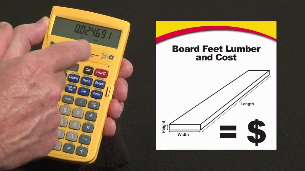 You Know How Much Stock Need For Your But Selecting Boards At The Lumber Yard And Figuring Board Foot Measure Can Get Confusing Quickly