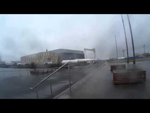 Rainy Day in Belfast