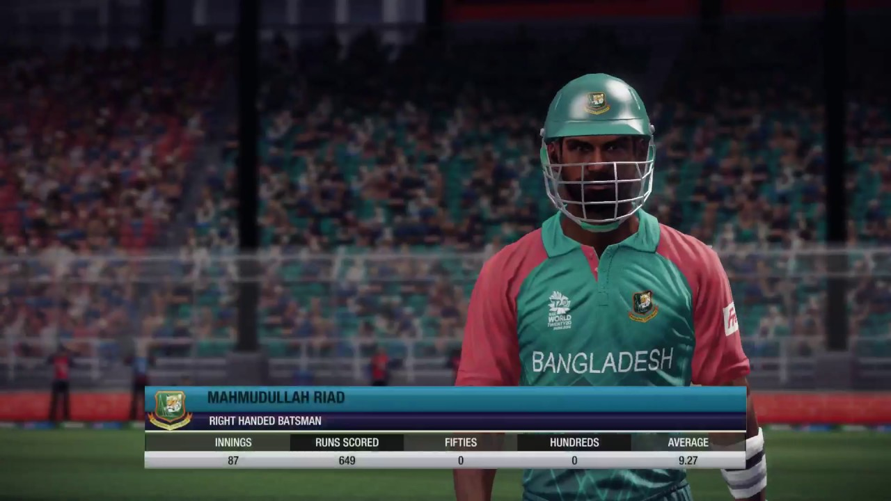 don bradman cricket 14 asia cup Pakistan vs Bangladesh t10 at legend level