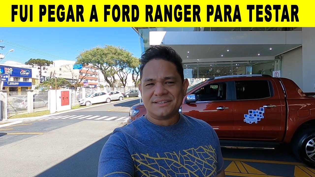 PEGUEI A FORD RANGER LIMITED 3.2 PRA TESTAR AQUI NO CANAL