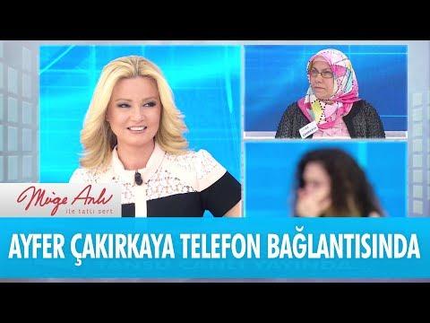 Ayfer Çakırkaya telefon bağlantısında - Müge Anlı İle Tatlı Sert 22 Mart 2018