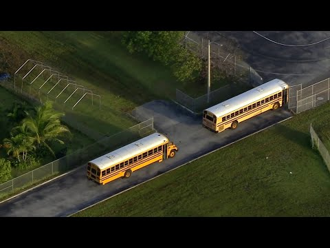 Students in MIami-Dade County return for first day of classes
