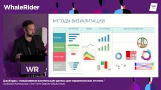Дашборды: интерактивная визуализация данных / Алексей Колоколов (Институт бизнес-аналитики)