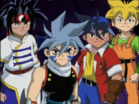 Beyblade - Episode 32 - Darknesss At The End Of The Tunnel H