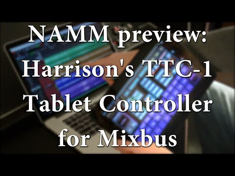 Harrison's  TTC-1 Tablet Controller for Mixbus