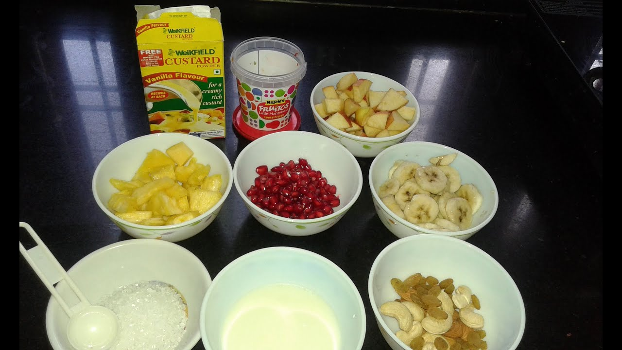 Indian custard recipe easy