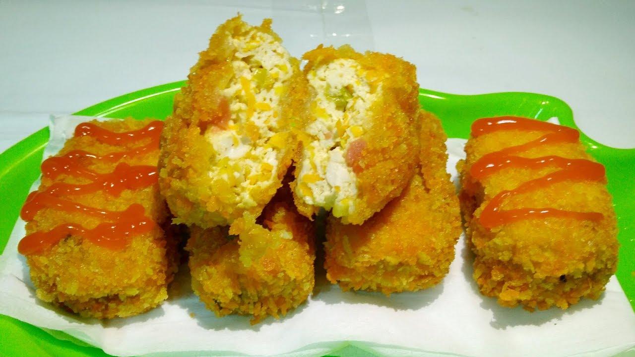 Nugget Tahu Crispy Aneka Masakan Tahu