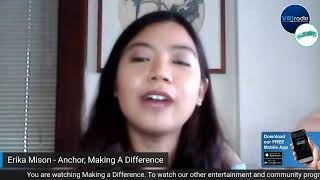 Making a Difference Season 2 Hosted by Erika Mison Featuring Where to Next