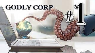 PŁASKOZIEMCY MIELI RACJĘ!!! || Godly Corp [#1]