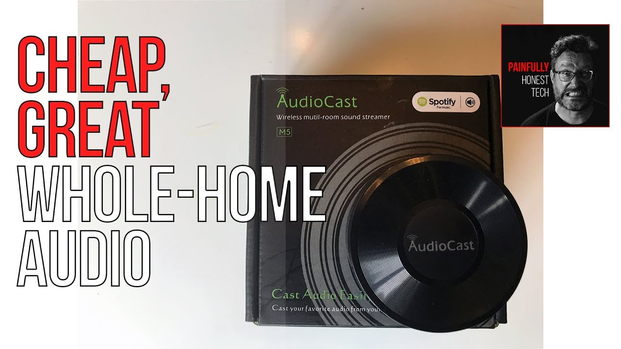 AUDIOCAST M5 REVIEW: Whole-Home Audio on the Cheap