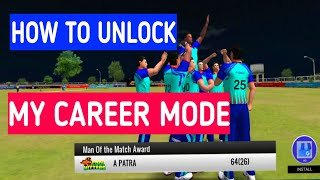 How to Unlock My Career Mode in WCB | MyCareer Mode Review