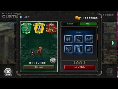 Metal Slug Attack - All 2.15 update units preview