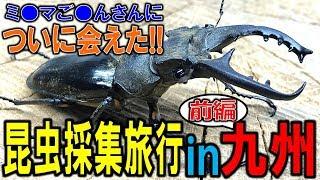 クワガタ&カブトムシ☆昆虫採集2017 昆虫採集九州旅行前編! ついにあの...