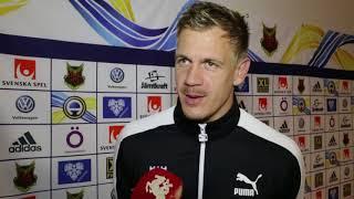 Johan Dahlin efter Östersund - Malmö FF