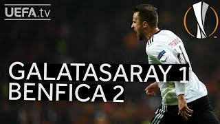 GALATASARAY 1-2 BENFICA #UEL HIGHLIGHTS