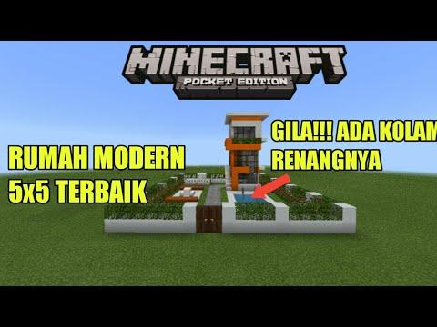 Rumah 5x5 Di Minecraft Pe