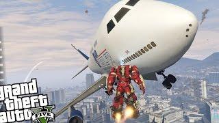 gta 5 pc iron man mod hulkbuster angry planes mod epic madness gta v