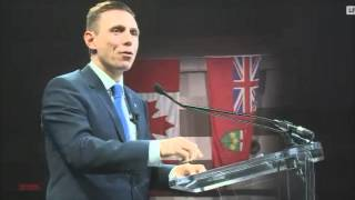 """Patrick Brown 2016 PC ALL IN convention  Keynote Speech """" Ottawa Convention"""