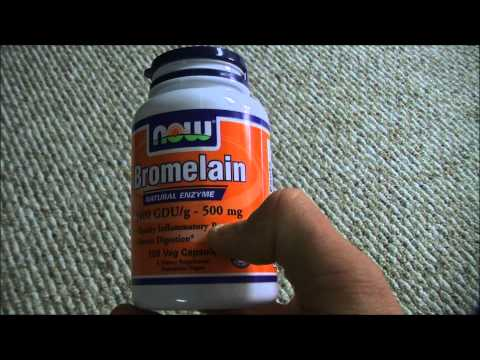 Now Foods Bromelain Review