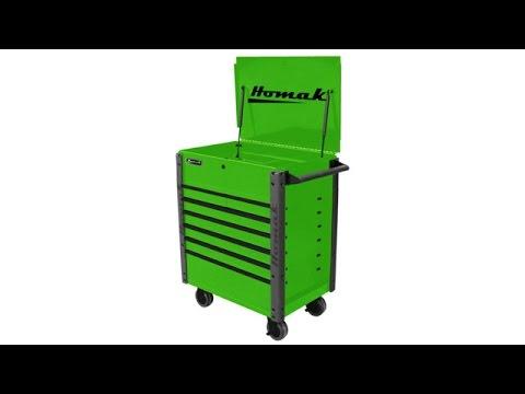 homak roll cart mechanics toolbox -