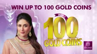 Win up to 100 Gold Coins with Malabar Gold & Diamonds