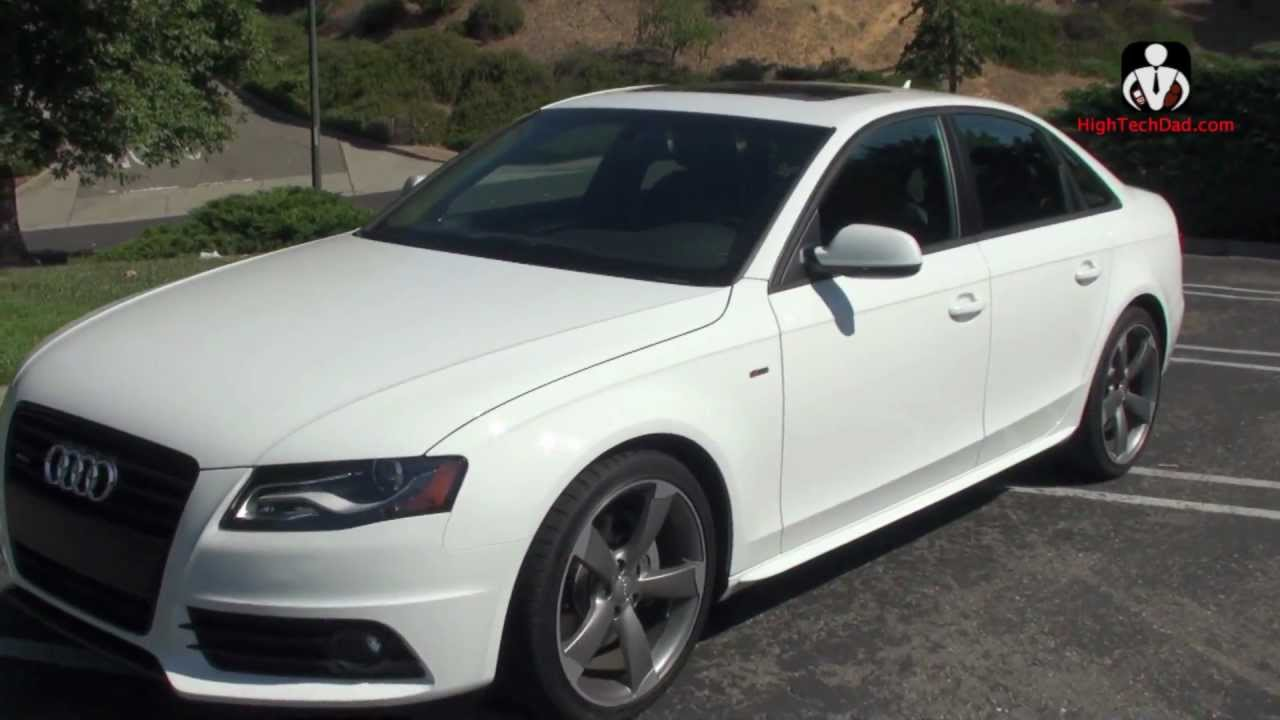 ... Design & Performance - Review of the 2012 Audi A4 Quattro - YouTube