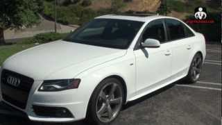 Tight Design & Performance - Review of the 2012 Audi A4 Quattro