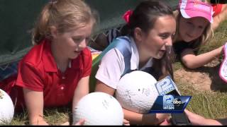 Kids share their secrets on getting autographs at PGA Championship