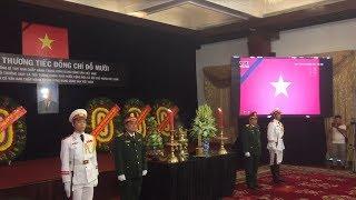 Lễ truy điệu nguyên Tổng bí thư Đỗ Mười tại TP HCM