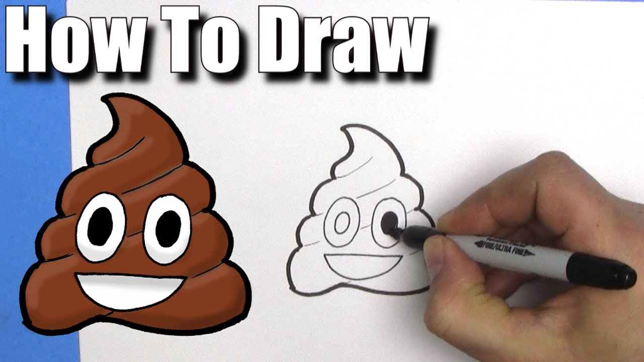 how to draw the emoji easy step by step youtube