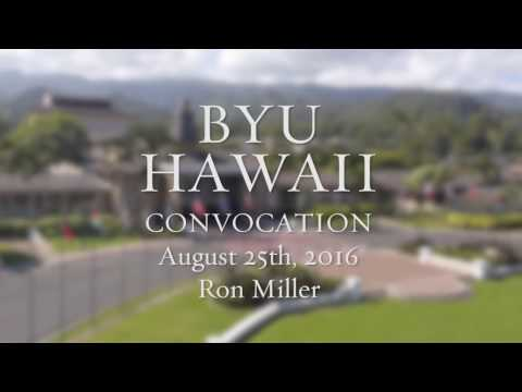 BYU–Hawaii - Convocation with Ronald Miller