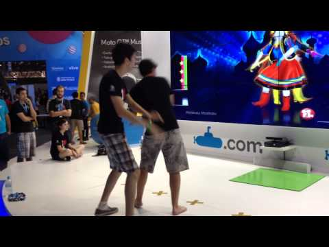 Campus Party 2014 - Moskau (Just Dance 2014) @ Submarino