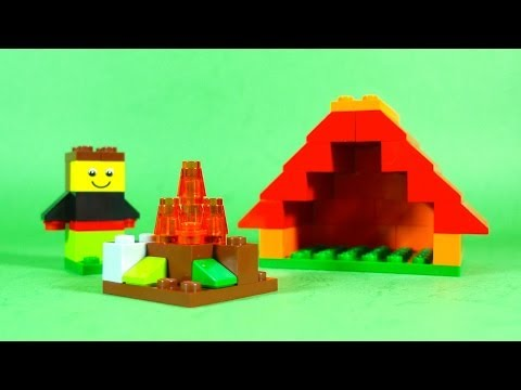 How To Build Lego Sea Castle 4630 Lego Build Play Box Building