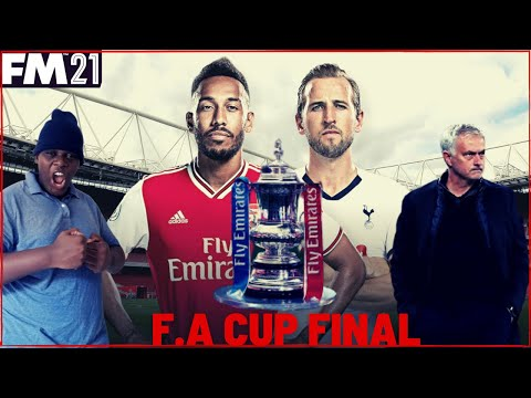 THE FINAL YOU HAVE ALL BEEN WAITING FOR ARSENAL VS TOTTENHAM FOR THE FA CUP ON MOBILE |FM21 TOUCH |