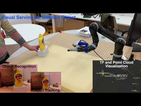 Visual Servoing of Objects without Object Models