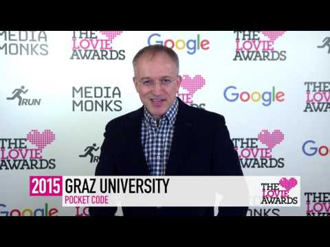 Graz University of Technology Declaration of Lovie at The 5th Annual Lovie Awards 2015