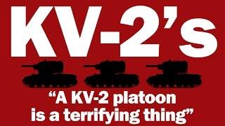 World Of Tanks Live - KV-2 Platoon