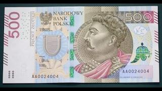 Nowy 500-złotowy banknot w obiegu po Polsce! dowiedz sie czegoś o nowym banknocie zanim go otrzymasz