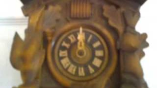CUCKOO CLOCK CLIP FOR EBAY SALE- TICK TOCK