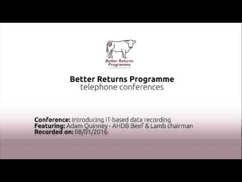 Introducing IT systems on farm - Adam Quinney Teleconference