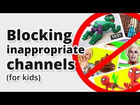 Youtube block videos play