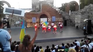 2014 07 09 20 35 57(Выступление Украинского детского коллектива на международном фольклорном фестивале в Несебре Болгария., 2014-07-10T18:22:36.000Z)