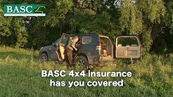 BASC 4x4 and ATV Insurance