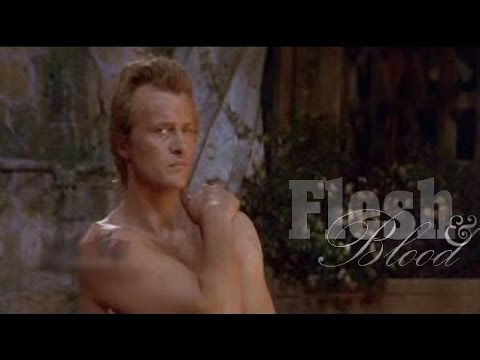 Rutger Hauer in Flesh & Blood, 1985